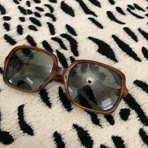 Vintage Oversized Square Sunglasses